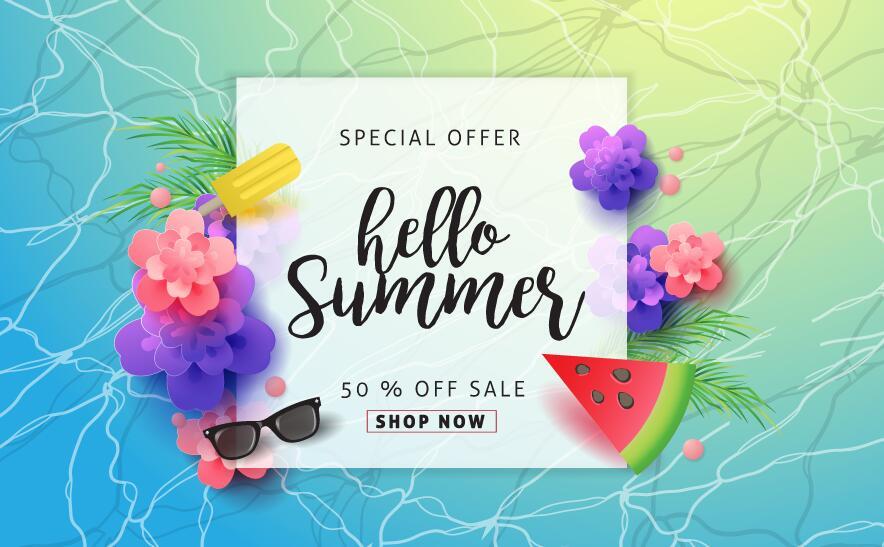 Verkauf Spezial Sommer poster bieten