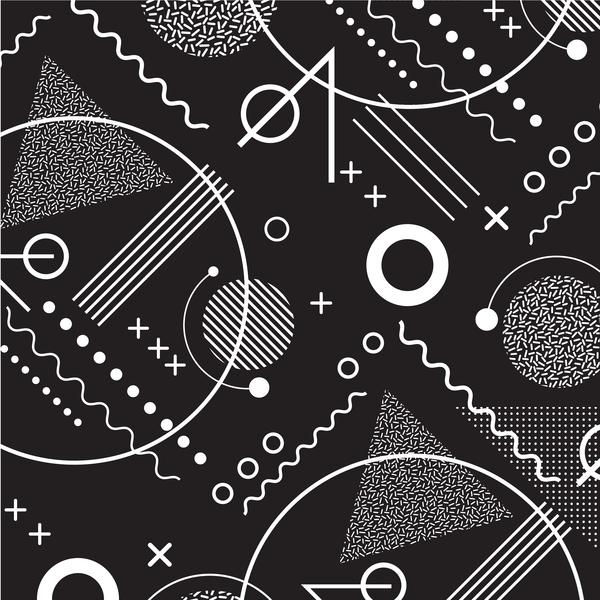 symbol nahtlos Muster Abstrakt
