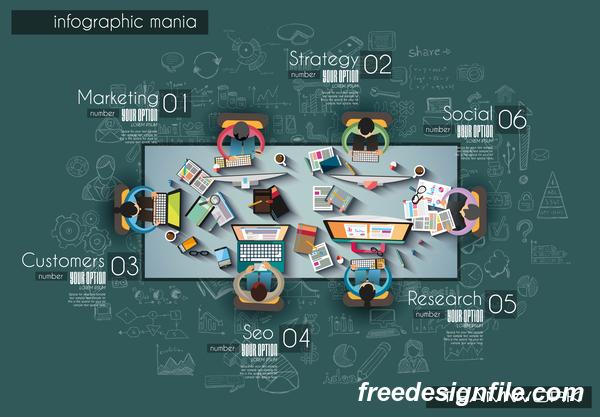 teamwork infographic ideas