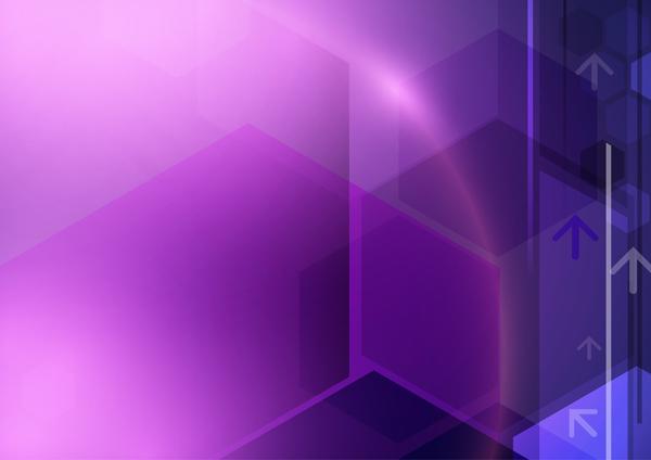 Technologie Lila Konzept Geometrische