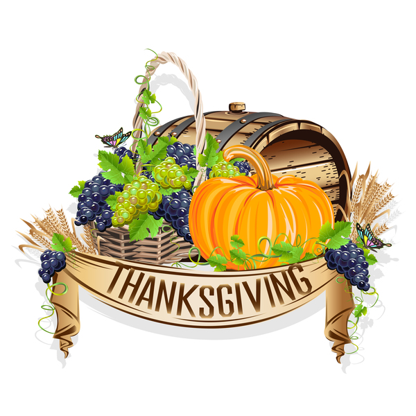 giorno del ringraziamento giorno etichette creative