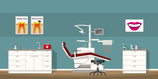 Zahn Büro Arzt