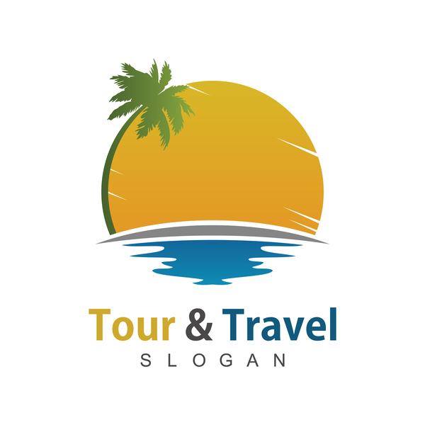 voyage tour plage logo