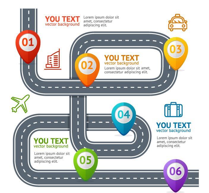 道路 交通 インフォグラフィック