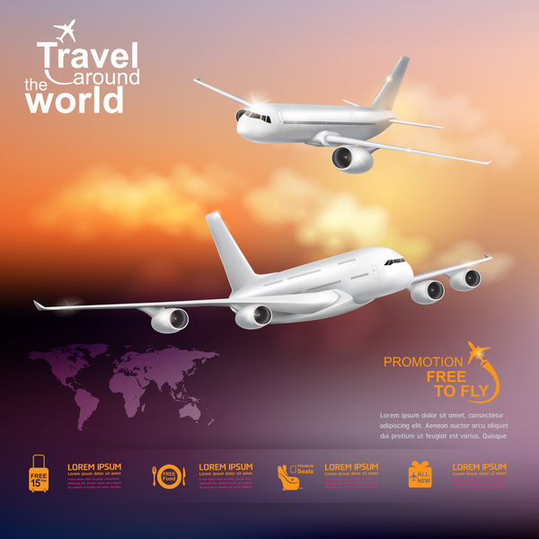 Welt um Reisen business