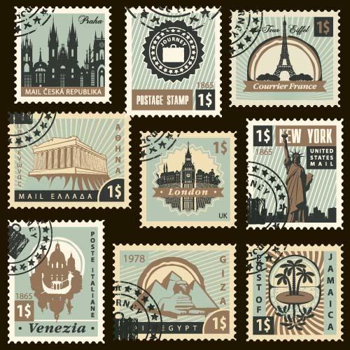 voyage timbres frais postaux
