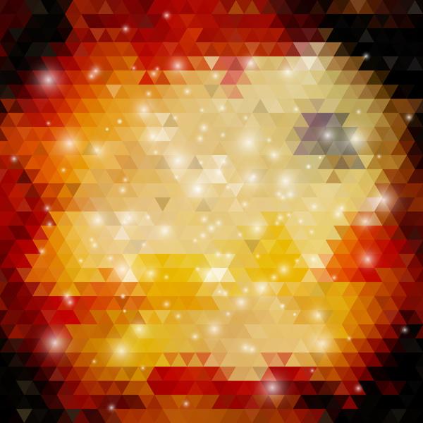 triangolo sfocature astratto