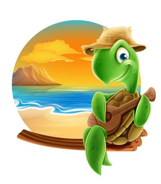 sommar sköldpadda Musik