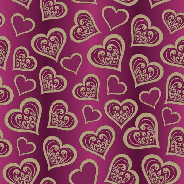 wallpaper senza soluzione di continuità San Valentino pattern giorno