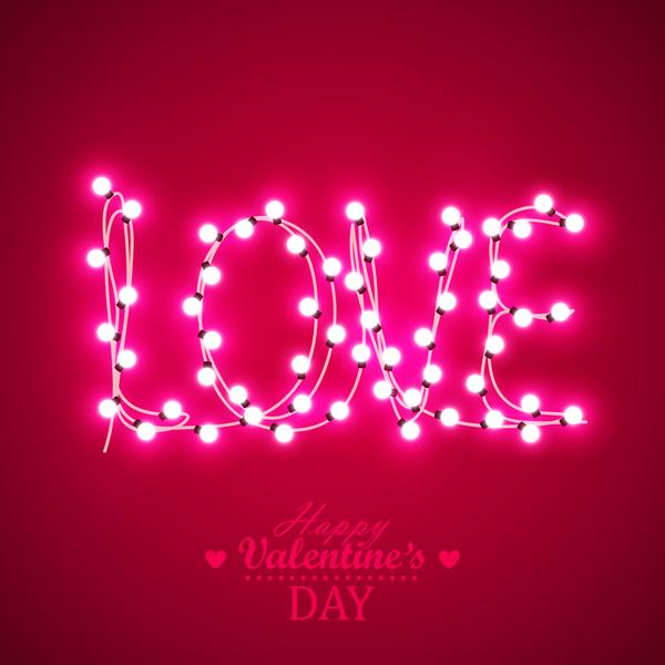 valentine Licht bule