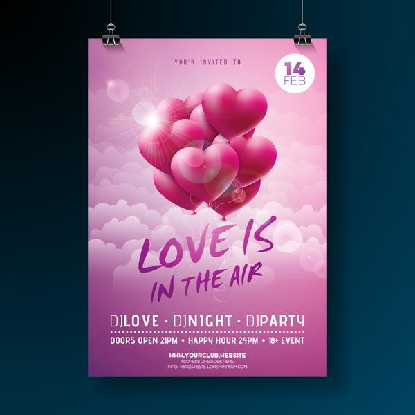 San Valentino flyer copertina brochure