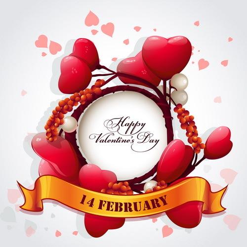 フレーム バレンタイン ハート