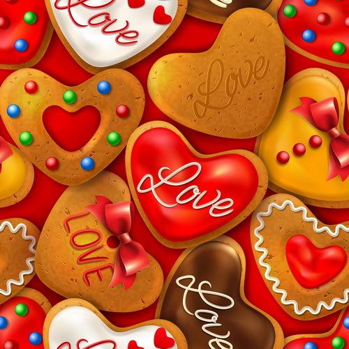 senza soluzione di continuità San Valentino i cookie esempio