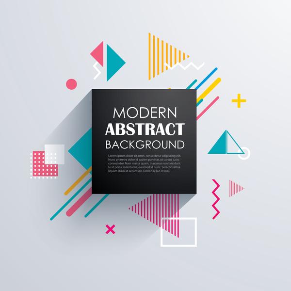 moderne Abstrait