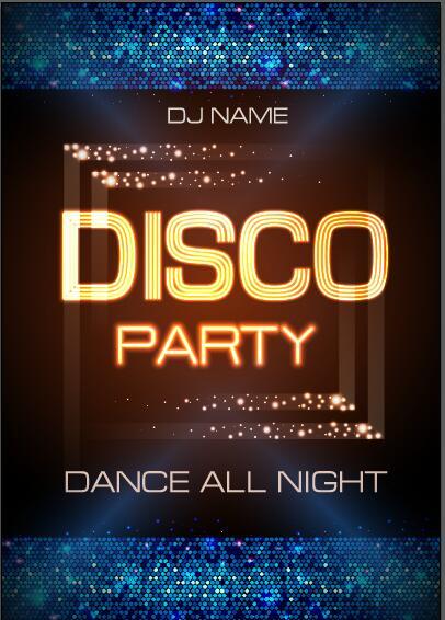 poster party night discoteca club