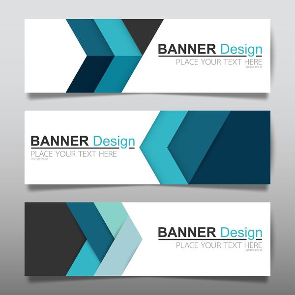 modern banners
