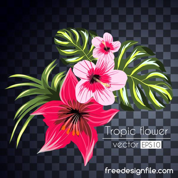 tropicali fiori
