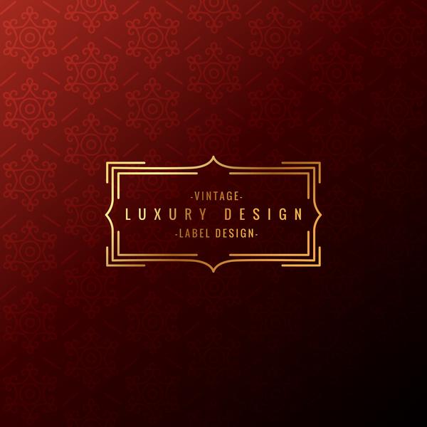 vintage Luxus Hintergrund