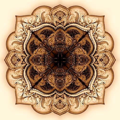 、装飾的な、民族、パターン、ヴィンテージ