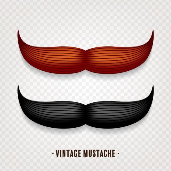 vintage Schnurrbart