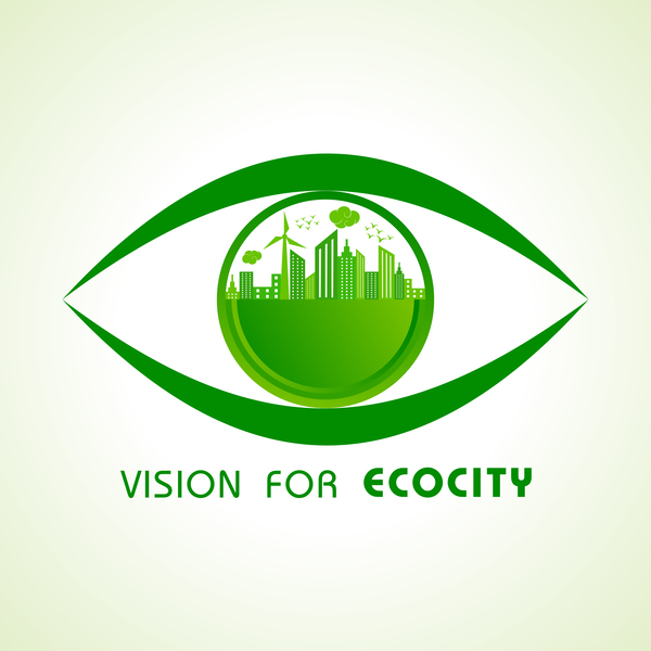 Vision logo for ecocity