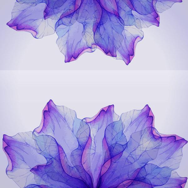 Rêve pétale fleur Aquarelle