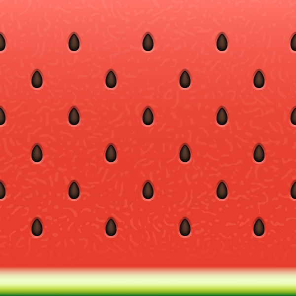 watermelon seamless Ripe pattern