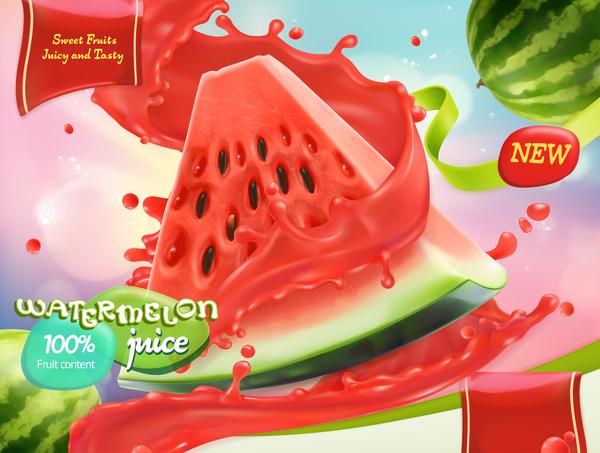 Wassermelone Saft poster