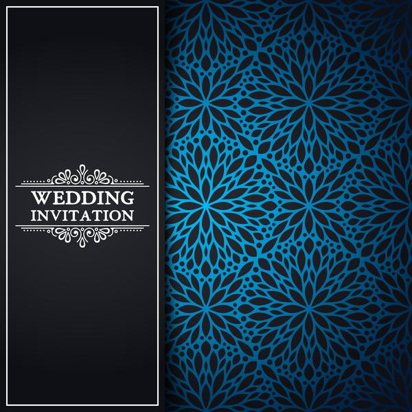 oriental Muster Hochzeit Einladung