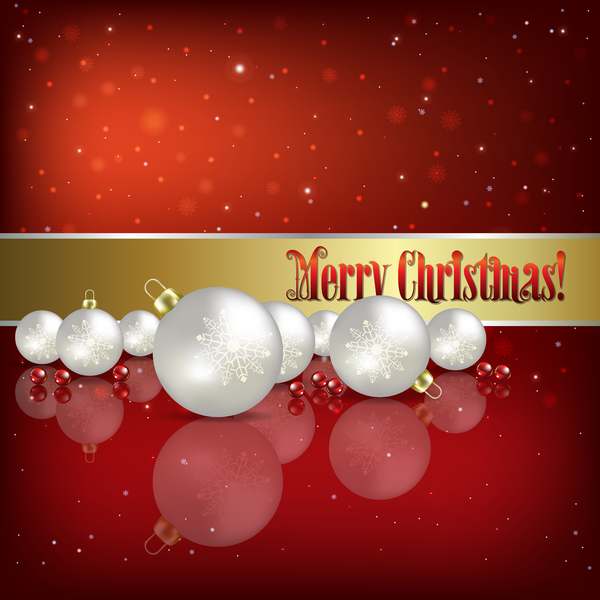 weiß Weihnachten rot Dekoration