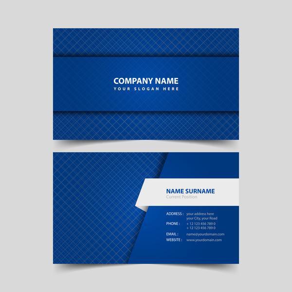 vit remplate kort blå Affärer