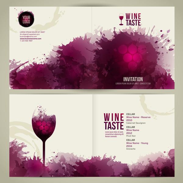 Watecolor vin styles menu