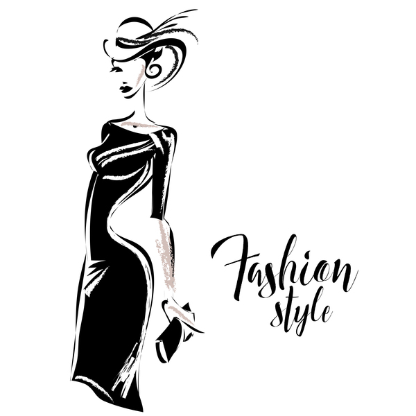 mode kvinna