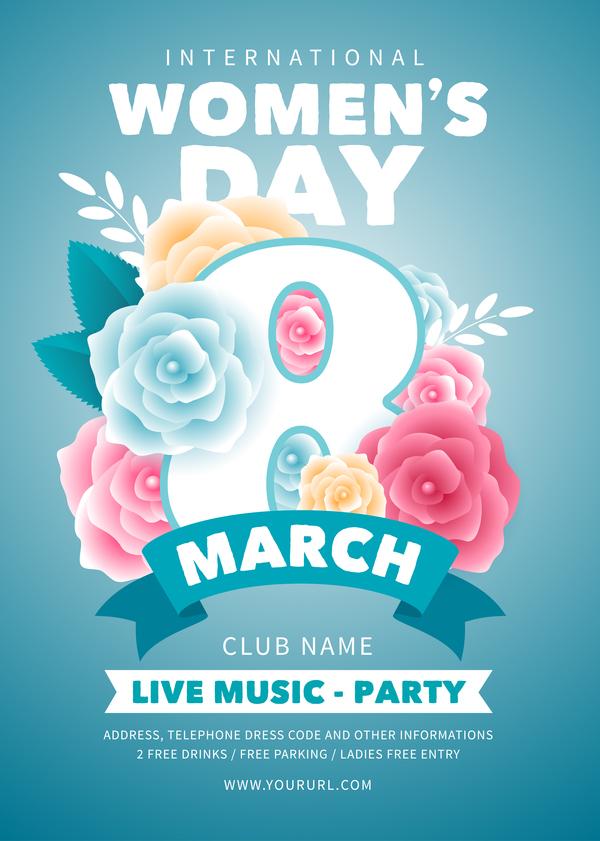 women's party flyer dag
