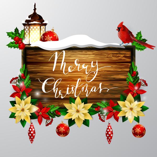 trä tecken Kreativ jul