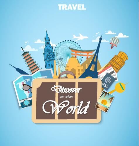 world travel creative air