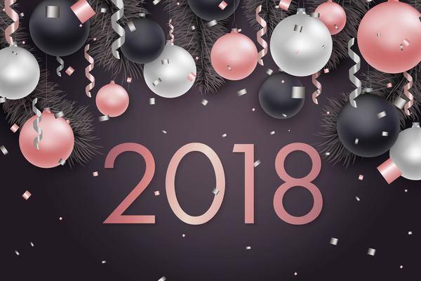 xmas nya dekorativa bollar ar 2018