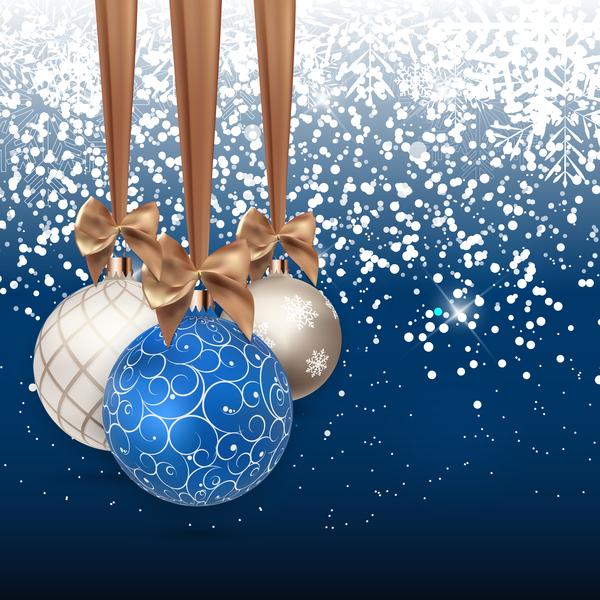 Noel neige decorations