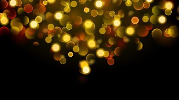 、黒、ボケ、黄色の効果