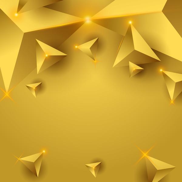 triangle lumière jaune étoile
