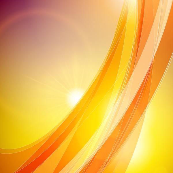 resume ondulé jaune