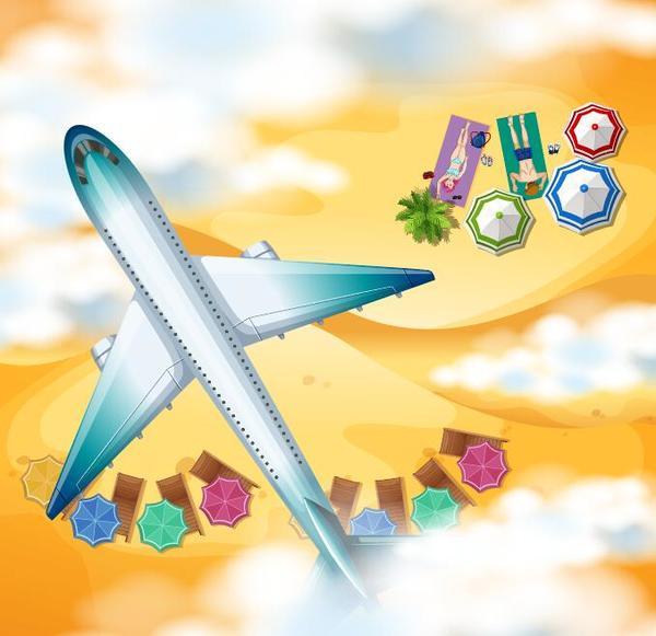voyage plage Avions