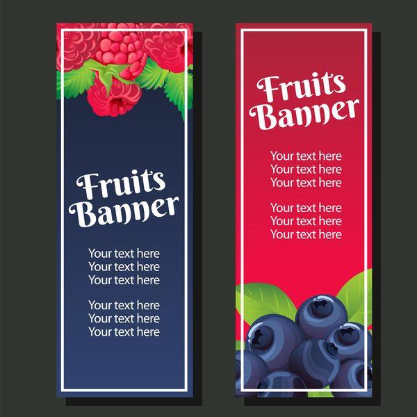 vertikal Berry banner