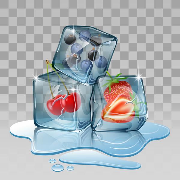 ice cubes Berry