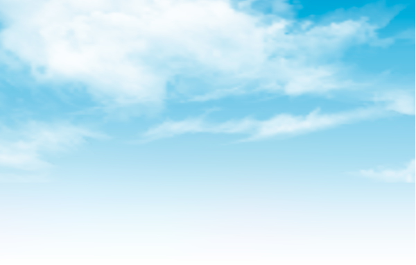 blue sky with clouds vector background - WeLoveSoLo