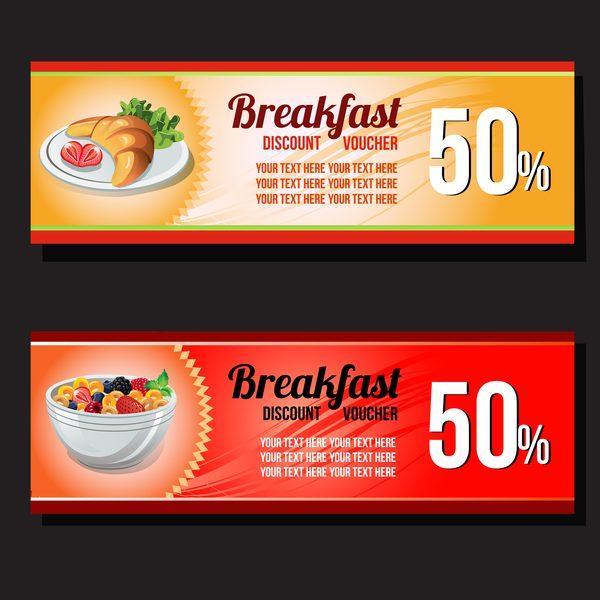 Rabatt Gutschein Frühstück