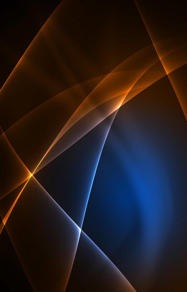 lumière brun bleu Abstrait