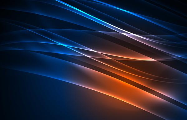 marrone luce blu astratto