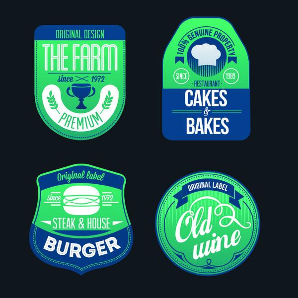 vino panini hamburger fattoria etichette
