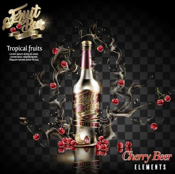 poster cherry Birra
